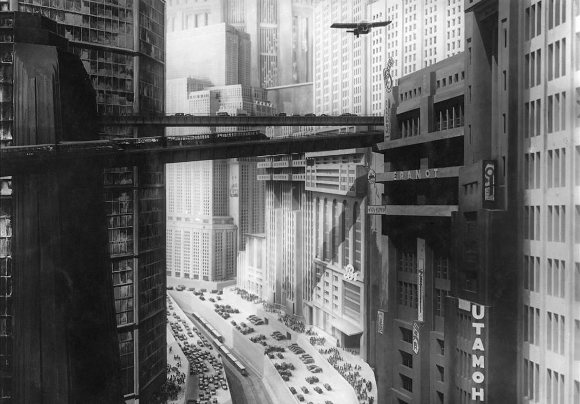 La ciudad de Metrópolis (1927).