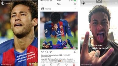 Neymar gira full i aposta per no rendir-se a la Lliga