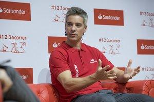 Fernando Rivas, entrenador de la campeona de badminton Carolina Marín.