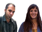 Ferran Aragón y Diana Mizrahi