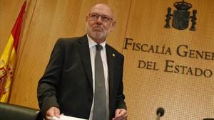 El fiscal general del Estado,JoséManuel Maza.