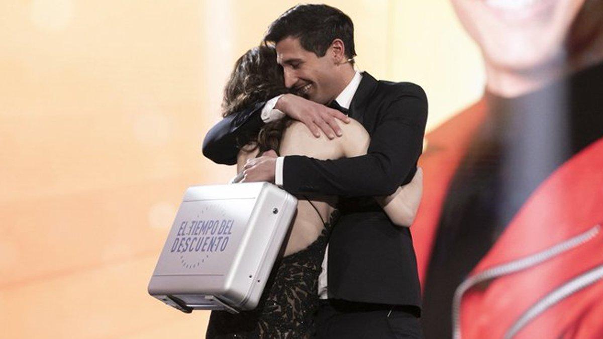 Gianmarco Onestini gana la primera edición de 'El tiempo del descuento' en Telecinco
