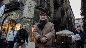 Godoy, que presenta su espectáculo humorístico '1941' en Club Capitol,frente a la pastelería Escribà en Rambla de les Flors, 83.