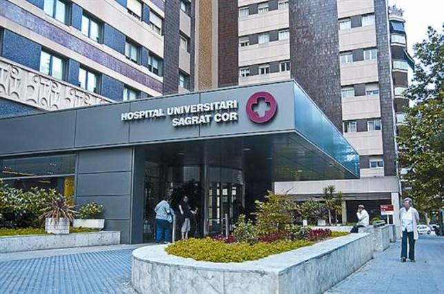 El Hospital del Sagrat Cor, de Barcelona.