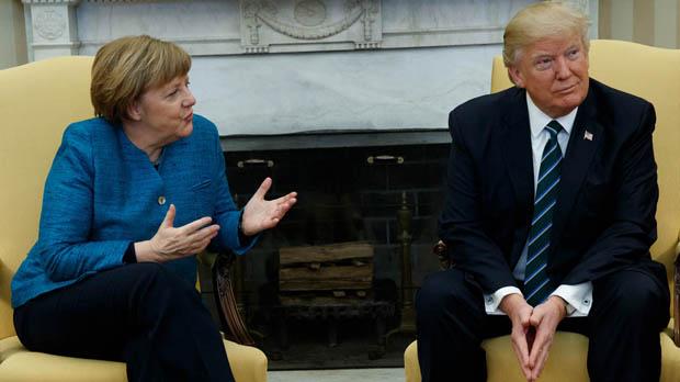 Impasse entre Merkel y Trump por los aranceles y el acuerdo de Irán