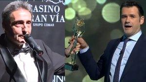 Así recogió Iñaki López su Antena de Oro en directo desde el plató de 'laSexta Noche'