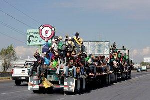 A finales de enero, en la frontera sur de México, la Guardia Nacional y las autoridades migratorias frenaron el intento de miles de centroamericanos.