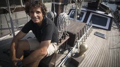 """Marcel Gubern: """"El mar es una lámina y nadie se da cuenta de lo que pasa abajo"""""""