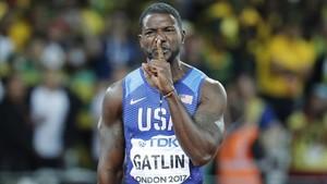 Justin Gatlin, el maleït oficial de l'atletisme