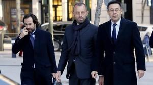 El Barça va contractar el testaferro de Rosell
