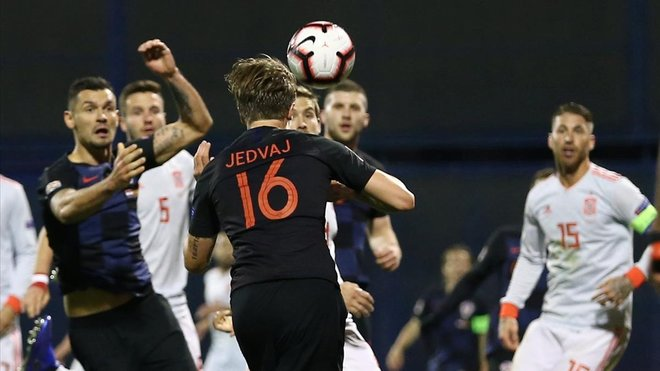 España cae en Croacia (3 - 2) y ya no depende de sí misma