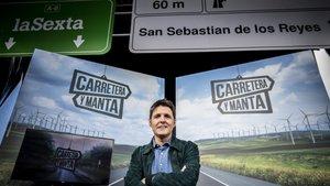 Jesús Cintora, presentador de Carretera y manta.