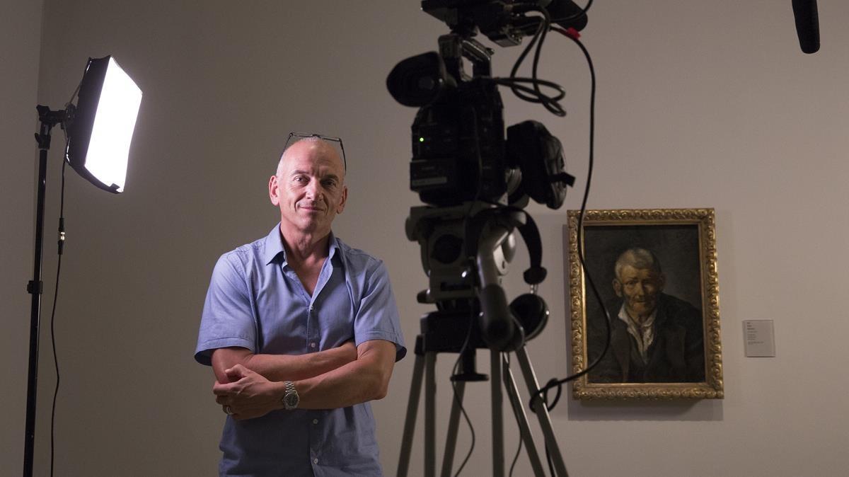 Phil Grabsky,director y productor del documental 'Young Picasso', en el museo del genio.