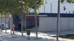 Comisaría de los Mossos en Tarragona.