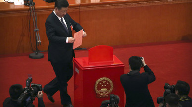 El Legislatiu xinès autoritza la presidència vitalícia de Xi Jinping