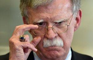 John Bolton, exjefe de Seguridad Nacional de EEUU.