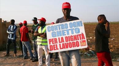 Aflora en Italia la explotación laboral de los jornaleros africanos