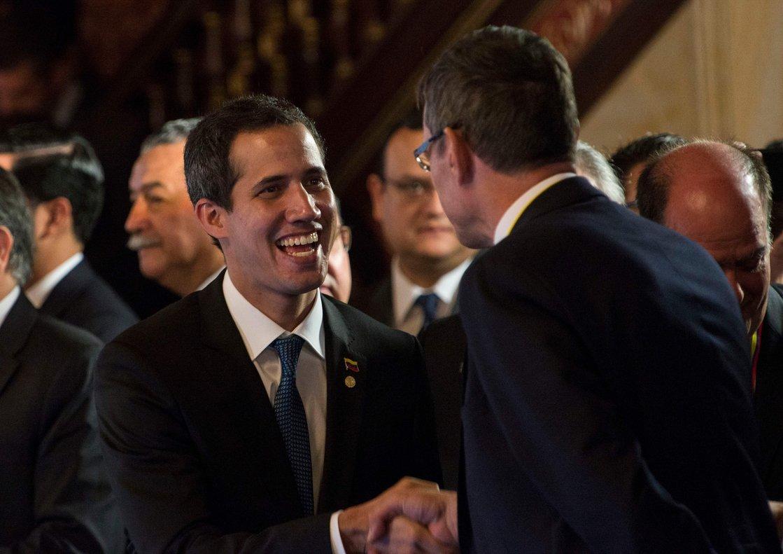 Juan Guaidó, el autoproclamado presidente interino de Venezuela.