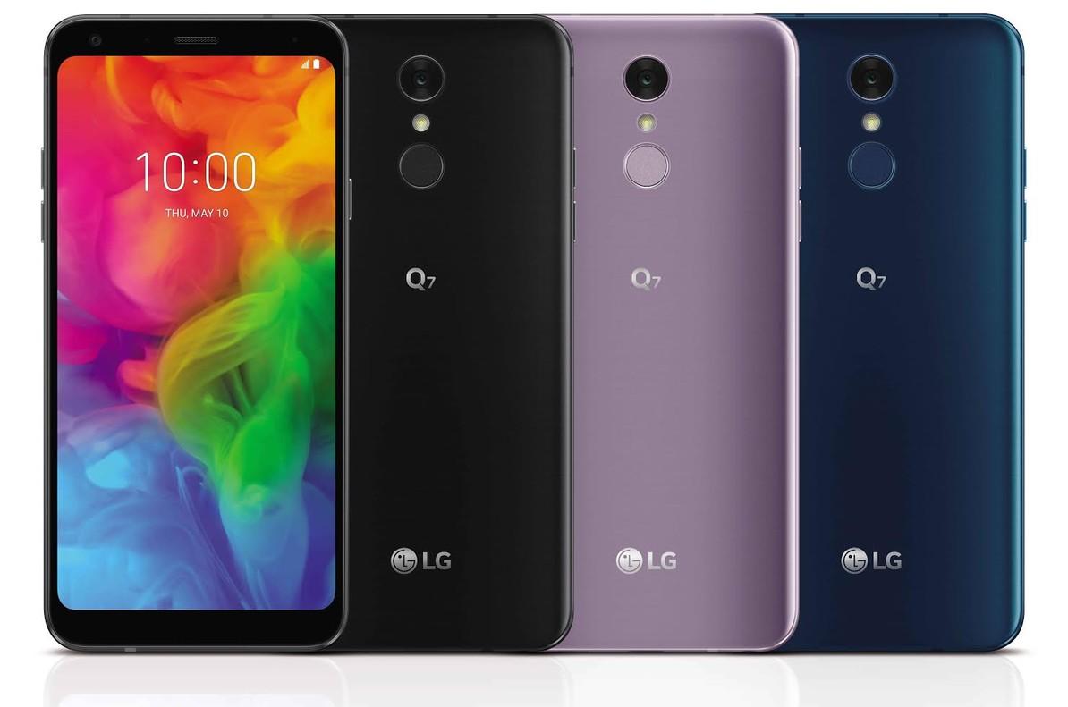 Nuevo smartphone de LG modelo Q7