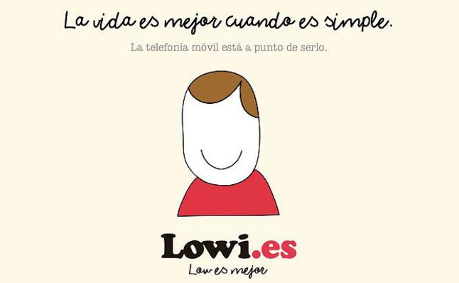 El logo del nuevo operador de telefonía móvil Lowi.