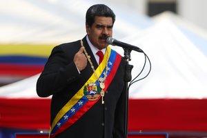 Nicolás Maduro juró este jueves su segundo mandato.