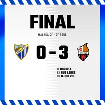 El Reus saca pecho y golea al Málaga
