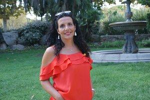 "Maria Escalas, autora de ""Sara i els silencis"" (Ed. Amasterdam)."