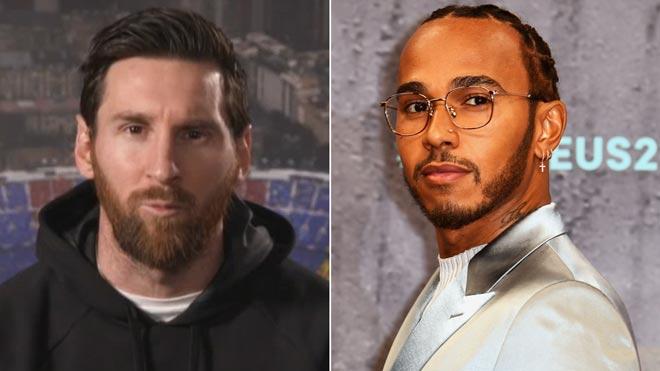 Messi y Hamilton comparten premio Laureus en una gala que reconoce al baloncesto español.