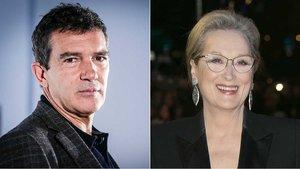 Antonio Banderas y Meryl Streep.