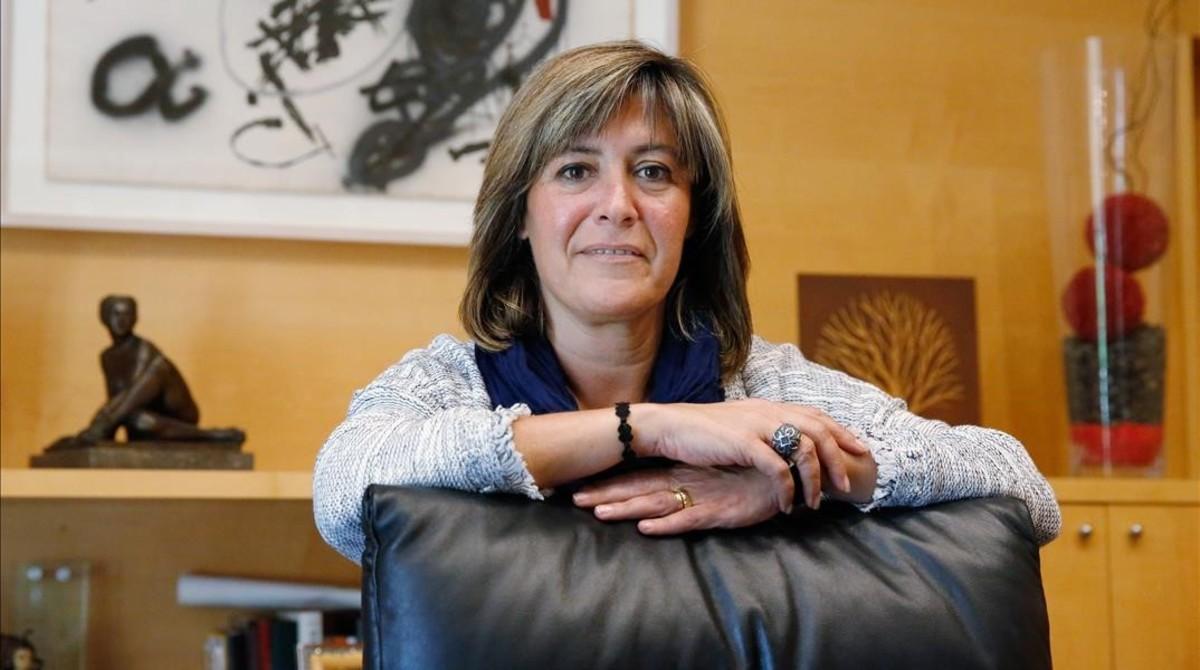 Núria Marin, alcaldesa de LHospitalet de Llobregat.