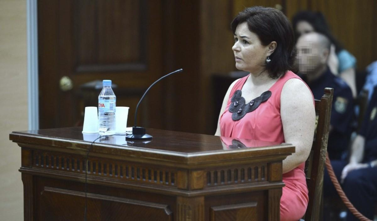 Ruth Ortiz, en su declaración en el juicio contra su exmarido, en junio del 2013.