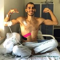 Pablo Ráez después de 62 días de ingreso.