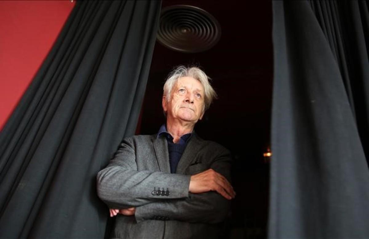 Patrick Deville, en el CCCB en Barcelona.