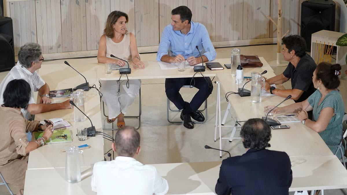 Pedro Sánchez retoma la ronda de contactos para evitar nuevas elecciones.