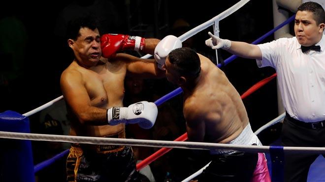 Pelea de boxeo entre alcaldes de Guatemala