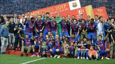 El uno por uno del Barça 16-17