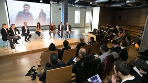 Presentación del nuevo Movistar Series para Latinomérica, este jueves.