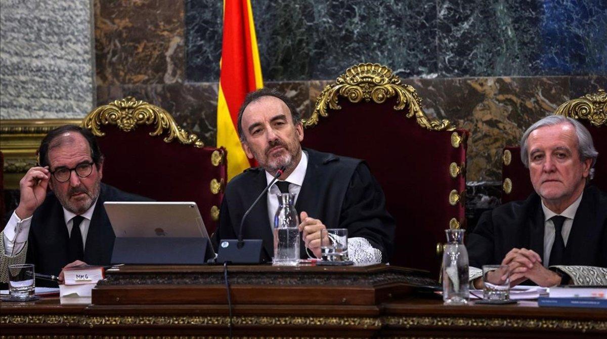 El presidente del tribunal del juicio al procés, Manuel Marchena.