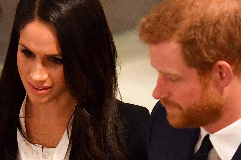 El príncipe Enrique y su prometida, Meghan Markle, en un acto en Londres, el pasado 1 de febrero.
