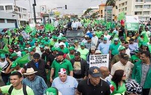Protestas sociales en República Dominicana.