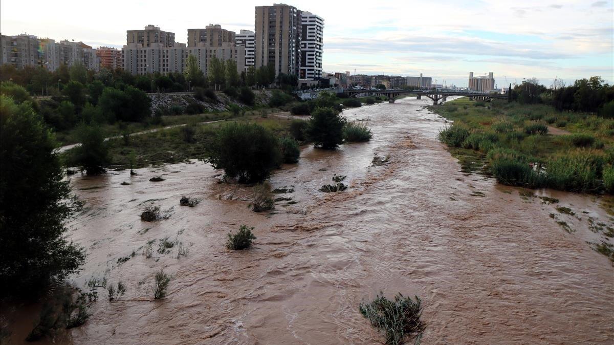 El río Francolí a su paso por Tarragona.