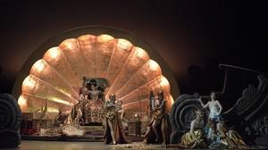 Una escena de la ópera Orlando furioso, de Antonio Vivaldi, con una puesta en escena de Fabio Ceresa presentada en el Teatro Malibran de Venecia.
