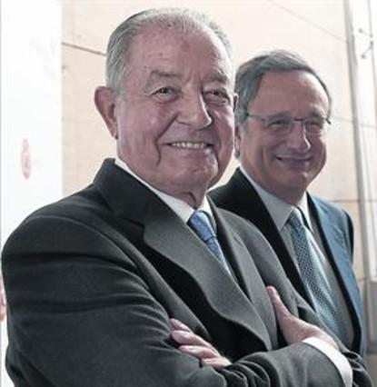 Salvador Gabarró y Rafael Villaseca, su sucesor en Gas Natural.