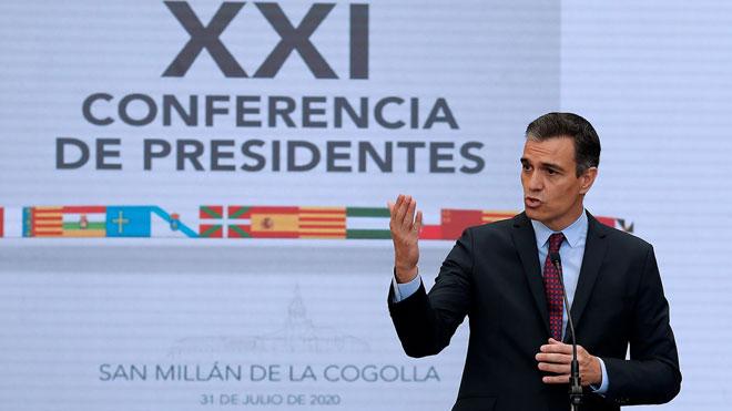 Sánchez promet «reactivació» davant la caiguda històrica del PIB