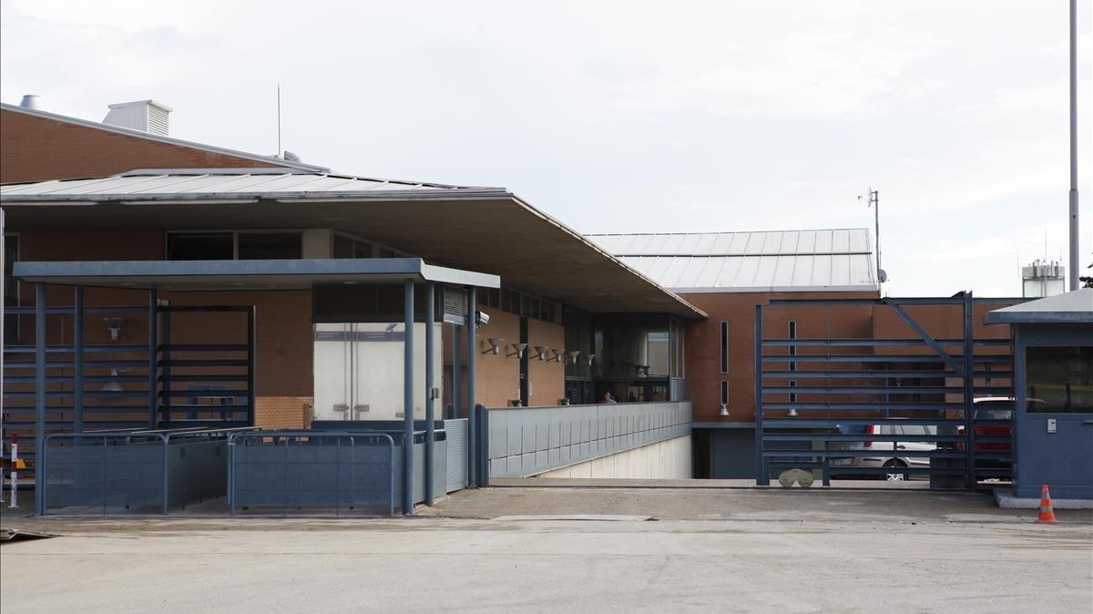 Fachada del Centro Penitenciario Brians I.