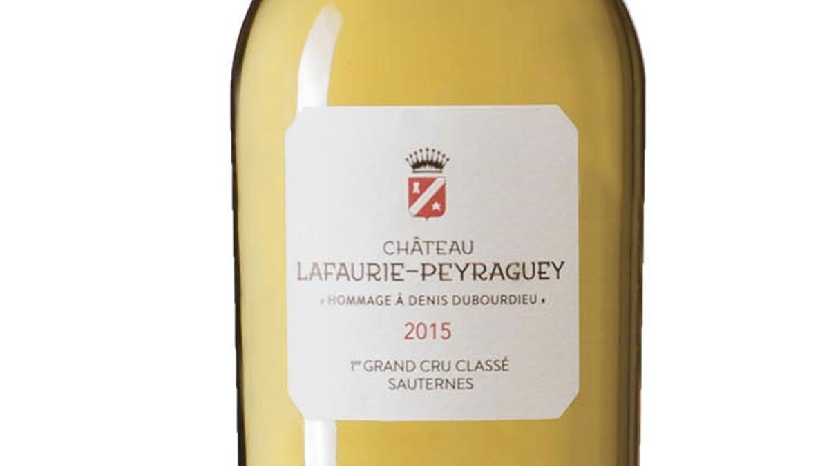 Sauternes 1er Grand Cru Classé 2015, de labodegaChâteau Lafaurie-Peyraguey.