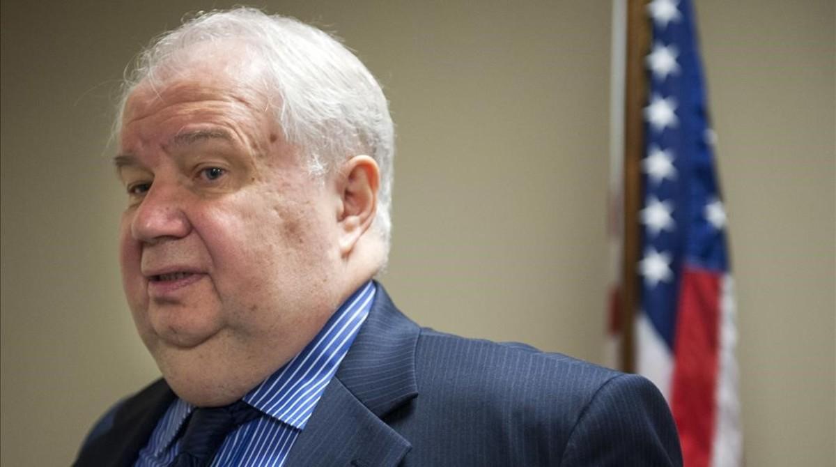 Serguéi Kislyak, embajador de Rusia en EEUU.