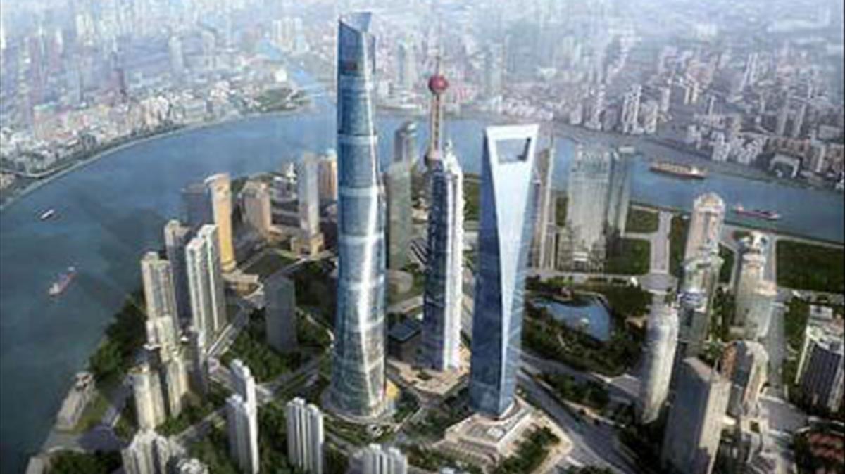 Imagen de la ciudad china de Shanghai.