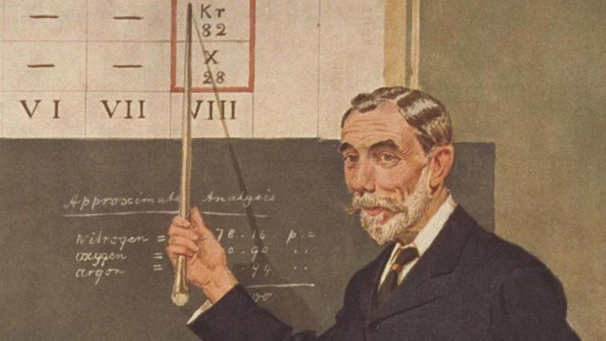 Sir William Ramsay, el geni que va canviar per sempre la taula periòdica