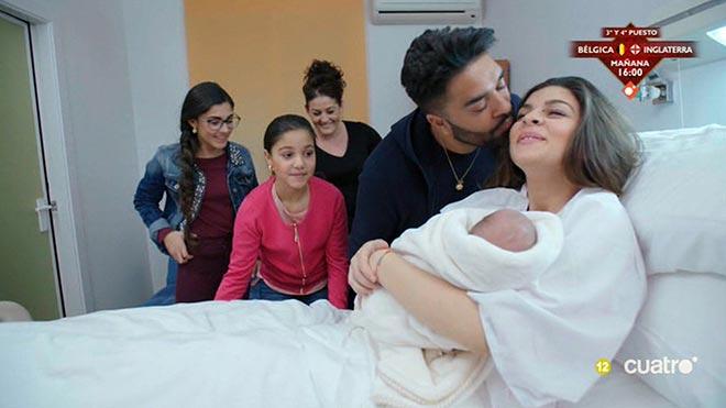 La Rebe ha dado a luz a un niño (Cuatro).